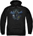 Batman pull-over hoodie From The Depths adult black