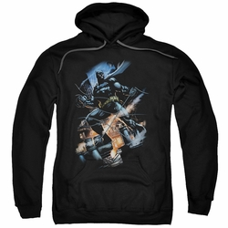 Batman pull-over hoodie Gotham Knight adult black