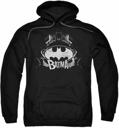 Batman pull-over hoodie Grim & Gritty adult black