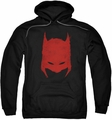 Batman pull-over hoodie Hacked & Scratched adult black
