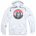 Batman pull-over hoodie Harley Quinn President Circle adult White