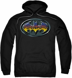 Batman pull-over hoodie Hot Rod Shield adult black