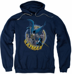 Batman pull-over hoodie In The Crosshairs adult navy