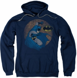 Batman pull-over hoodie In The Spotlight adult navy