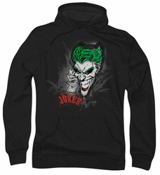 Joker pull-over hoodie Sprays The City adult black