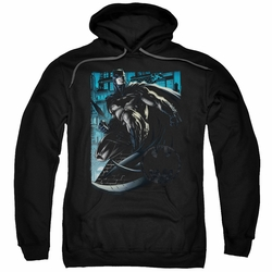 Batman pull-over hoodie Knight Falls In Gotham adult black