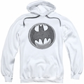 Batman pull-over hoodie Knight Knockout adult white