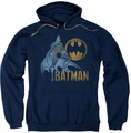 Batman pull-over hoodie Knight Watch adult navy