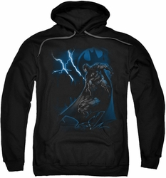 Batman pull-over hoodie Lightning Strikes adult black