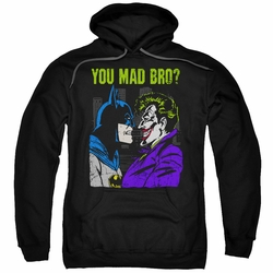 Batman pull-over hoodie Mad Bro adult black