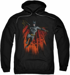 Batman pull-over hoodie Majestic adult black