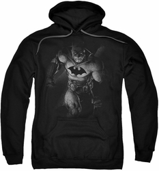 Batman pull-over hoodie Materialized adult black