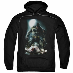 Batman pull-over hoodie Mudhole adult Black