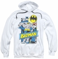 Batman pull-over hoodie Out Of The Pages adult white