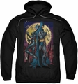 Batman pull-over hoodie Paint The Town Red adult black