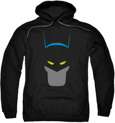 Batman pull-over hoodie Simplified adult black