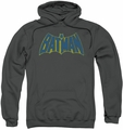 Batman pull-over hoodie Sketch Logo adult charcoal