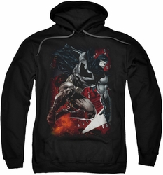 Batman pull-over hoodie Sparks Leap adult black