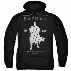 Batman pull-over hoodie Star Silhouette adult black