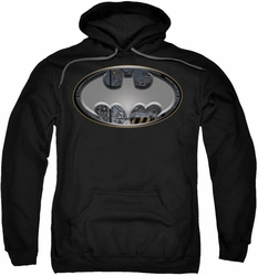 Batman pull-over hoodie Steel Wall Shield adult black