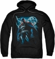 Batman pull-over hoodie Stormy Knight adult black