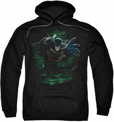 Batman pull-over hoodie Surprise adult black