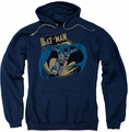 Batman pull-over hoodie Through The Night adult navy