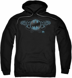 Batman pull-over hoodie Two Gargoyles Logo adult black