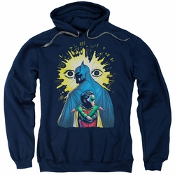 Batman pull-over hoodie Watchers adult Navy