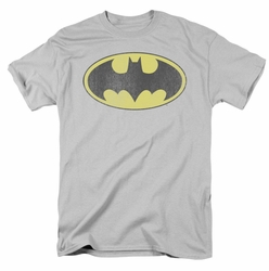 Batman Retro Bat Logo distressed DC Originals mens t-shirt