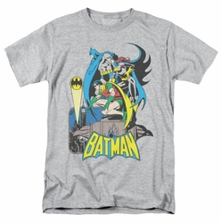 Batman Robin Batgirl Heroic Trio DC Originals mens t-shirt