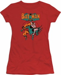 Batman Robin juniors t-shirt Starling Shock red