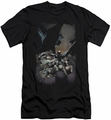 Batman slim-fit t-shirt #1 NEW 52 mens black