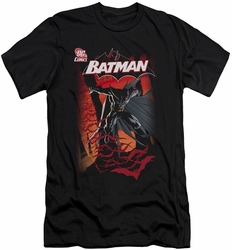 Batman slim-fit t-shirt #655 Cover mens black