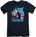 Batman slim-fit t-shirt Bachelor mens navy