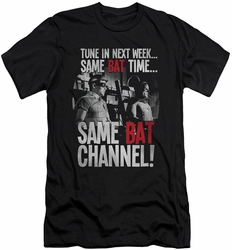 Batman slim-fit t-shirt Bat Channel mens black