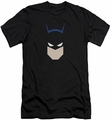 Batman slim-fit t-shirt Bat Head mens black
