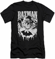 Batman slim-fit t-shirt Bat Metal mens black