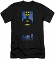 Batman slim-fit t-shirt Batman Block mens black