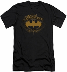 Batman slim-fit t-shirt Batman La mens black