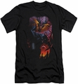 Batman slim-fit t-shirt Batman & Robin #1 NEW 52 mens black