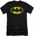 Batman slim-fit t-shirt Bats In Logo mens black