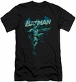 Batman slim-fit t-shirt Blue Bat mens black
