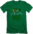 Batman slim-fit t-shirt Break Stuff mens kelly green