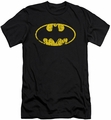 Batman slim-fit t-shirt Classic Logo Distressed mens black