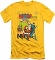 Batman slim-fit t-shirt Cover No. 27 mens yellow