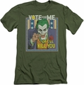 Joker slim-fit t-shirt Dark Detective #1 mens military green