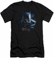 Batman slim-fit t-shirt Don't Mess With The Bat mens black