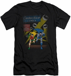 Batman slim-fit t-shirt Dynamic Duo mens black