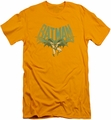 Batman slim-fit t-shirt Flying Bat mens gold